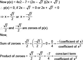 CBSE HOTS Questions for CBSE_Polynomials, Class X Math