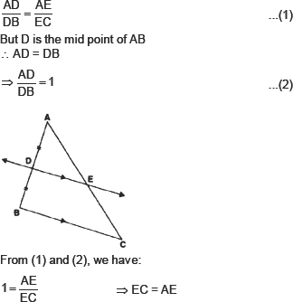 CBSE HOTS Questions for CBSE- Triangles, Class X Math