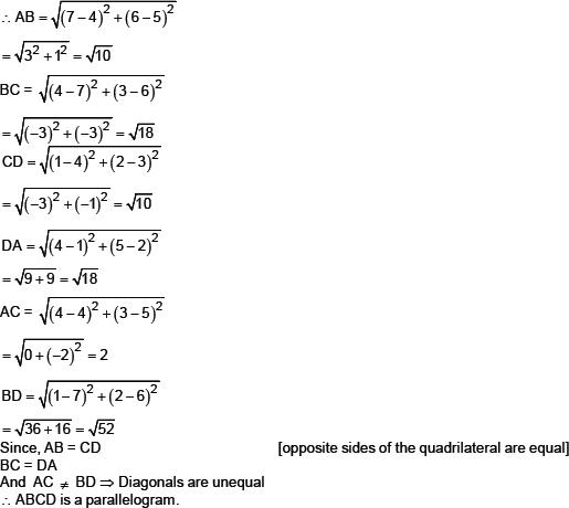 CBSE 10, Math, CBSE- Coordinate Geometry, NCERT Solutions