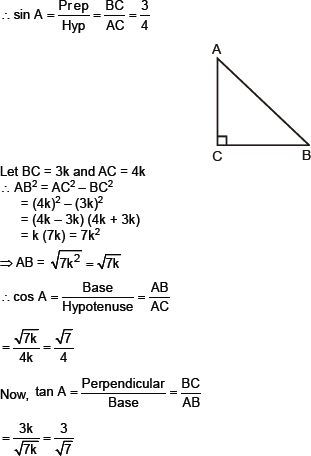 introduction to trigonometry class 10 ncert solutions