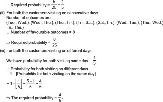 CBSE 10, Math, CBSE- Probability, NCERT Solutions