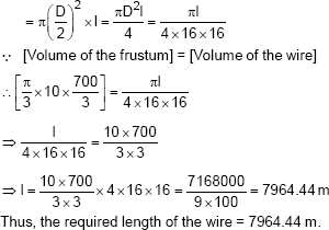 cbse 10 math cbse surface areas and volumes ncert solutions