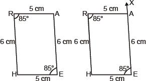 CBSE 8, Math, CBSE- Practical Geometry, NCERT Solutions