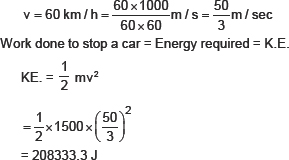 CBSE 9, Physics, CBSE- Work and Energy, NCERT Solutions