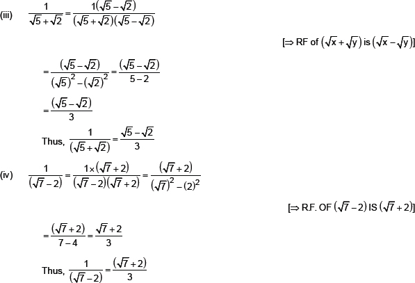 CBSE 9 Math CBSE Number Systems NCERT Solutions
