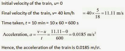 CBSE 9, Physics, CBSE- Motion, NCERT Solutions