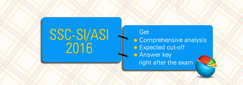 SSC SI ASI Answer Key & Exam Analysis