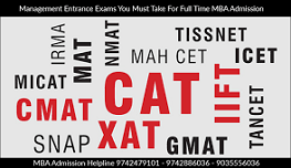 How to prepare for various managment entrance exam?