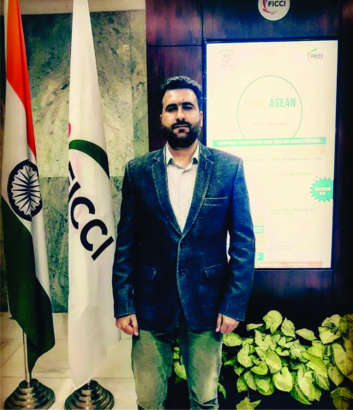 Syed Haamid Bukhari,  ICLS  UPSC IAS/ Civil Services 2016 batch