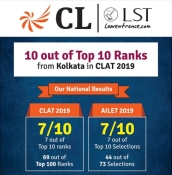 //www.careerlauncher.comKolkata CL Results - CLAT 2019