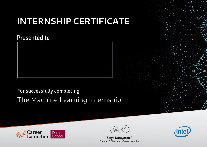 Machine Learning Internship l Machine Learning Projects l Career
