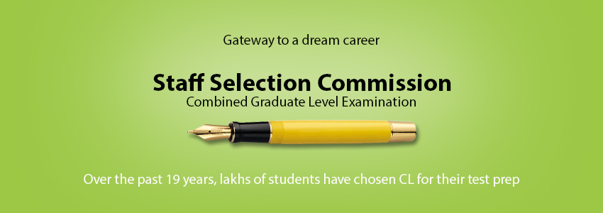 Gateway to dream career: SSC CGL, CHSL entrance Coaching/ Preparation/ Training in India
